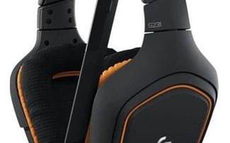 Logitech Gaming G231 Prodigy černý/oranžový (981-000627)