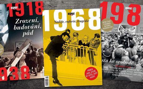 Speciální vydání týdeníku Respekt i kalendář
