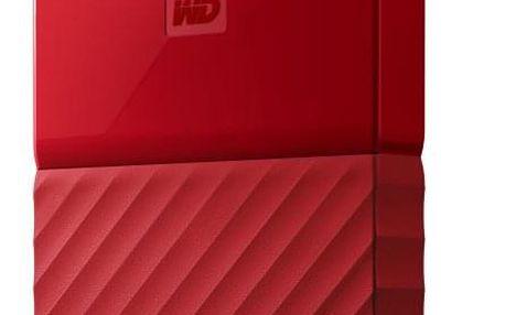 "Externí pevný disk 2,5"" Western Digital My Passport 1TB červený (WDBYNN0010BRD-WESN)"