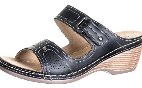 Cabin Dámské pantofle se suchým zipem