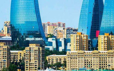 Ázerbájdžán letecky z Polska na 8 dnů, snídaně v ceně