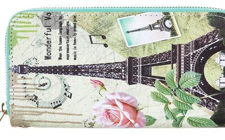 David Jones Dámská peněženka Paříž retro