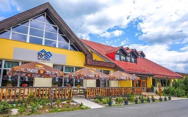 Vysoké Tatry: Hotel Rysy *** s polopenzí, wellness a procedurami + dítě zdarma