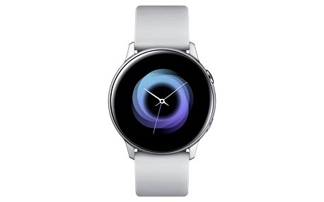 Chytré hodinky Samsung Galaxy Watch Active stříbrná (SM-R500NZSAXEZ)