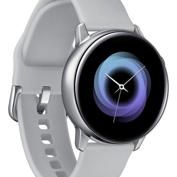 Chytré hodinky Samsung Watch Active (SM-R500NZSAXEZ) stříbrná + DOPRAVA ZDARMA2