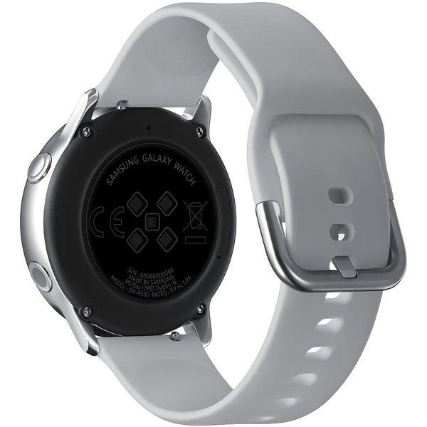 Chytré hodinky Samsung Watch Active (SM-R500NZSAXEZ) stříbrná + DOPRAVA ZDARMA4