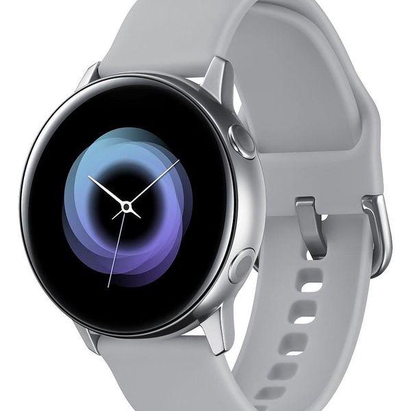 Chytré hodinky Samsung Watch Active (SM-R500NZSAXEZ) stříbrná + DOPRAVA ZDARMA5