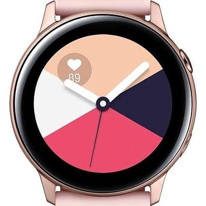 Samsung Galaxy Watch Active růžová/zlatá (SM-R500NZDAXEZ)