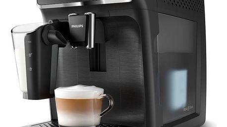 Espresso Philips EP2230/10 černé + dárek Káva zrnková Nero Caffé Crema/Office,1 kg v hodnotě 399 Kč + DOPRAVA ZDARMA