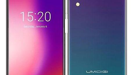 Mobilní telefon UMIDIGI ONE Dual SIM (UMIDIGIONETW) zelený/fialový
