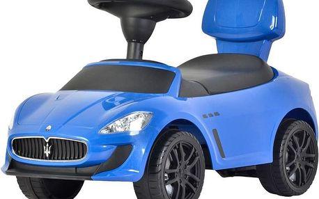 BUDDY TOYS Odrážedlo Maserati Grand Cabrio BPC 5132 - modrá
