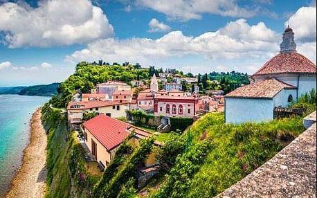 4-denní zájezd - Putování barevným Slovinskem, okolí Triglavu a jezero Bled