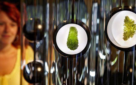 Vstup do interaktivního Muzea vltavínů