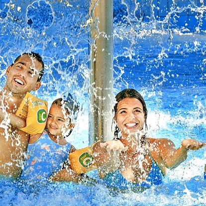 Návštěva aquaparku: 3 hodiny radosti pro všechny