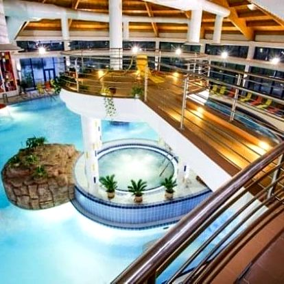 Komárno luxusně v Hotelu Banderium *** s celodenním vstupem do termálních lázní