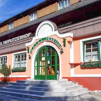 Rakouské Alpy: Hotel Tauplitzerhof *** s polopenzí, slevovou kartou + aktivity