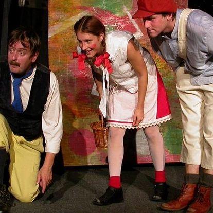 Vstupenka na představení O chaloupce z perníku