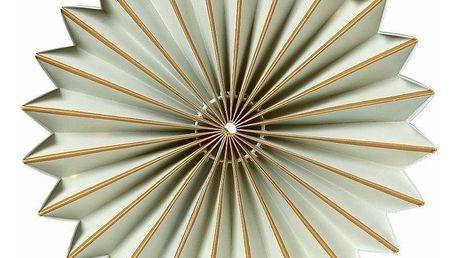 watt & VEKE Svítící LED dekorace Juliette Sage 25 cm, multi barva, plast, papír