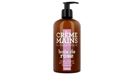 COMPAGNIE DE PROVENCE Krém na ruce Rosewood 300 ml, růžová barva, hnědá barva, plast