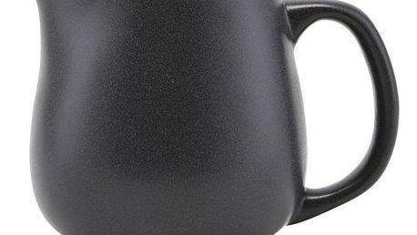 Nicolas Vahé Keramický džbánek Black 450 ml, černá barva, keramika