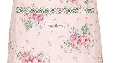 GREEN GATE Kuchyňská zástěra Marley Pale Pink, růžová barva, textil