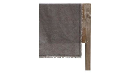 Chic Antique Běhoun na stůl Amiens Cinder Grey, šedá barva, textil