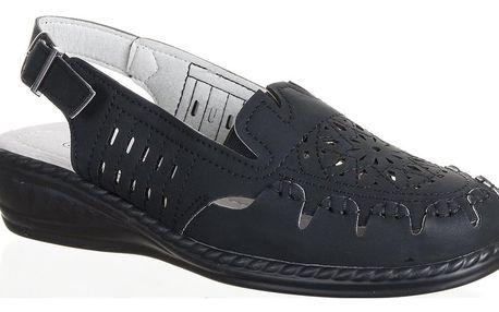 NORD Dámské uzavřené zdravotní pantofle pro široké nohy