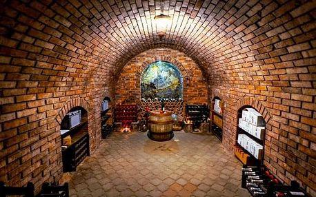 Jižní Morava: vinařský pobyt v oceněném hotelu Weiss *** s polopenzí