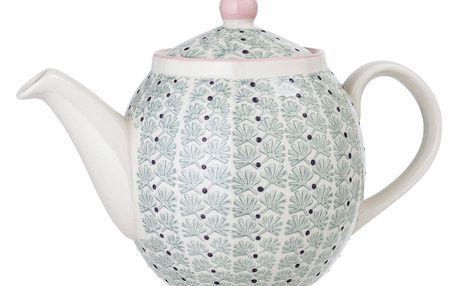 Bloomingville Keramická konvice Maya Tea Kettle, multi barva, keramika