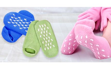 Péče o vaše chodidla: Hydratační gelové ponožky