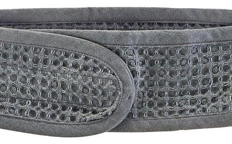 meraki Látková čelenka na líčení Grey, šedá barva, textil