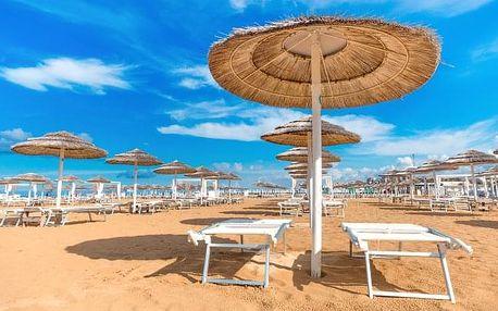 Itálie: 8 dní s all inclusive v Hotelu Europa *** u pláže se vstupem do bazénu
