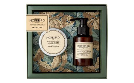 MORRIS & Co. Pánská sada s péčí o vousy Morris Gentlemann, zelená barva, plast
