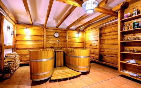 Beskydy v Hotelu Pod Akáty s polopenzí a slevou na pivní či vinné lázně