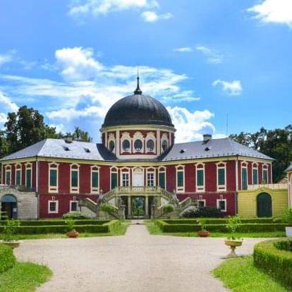 Edukační pobyt v areálu zámku Veltrusy