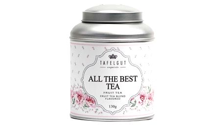 TAFELGUT Ovocný čaj All the best - 130gr, růžová barva