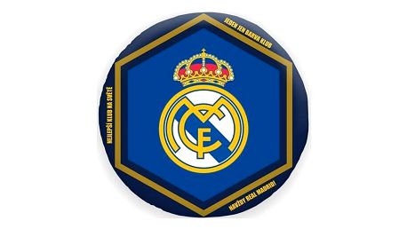 Halantex Polštářek Real Madrid, 30 cm