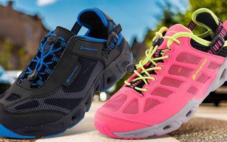Prodyšná obuv Alpine Pro: unisex i dámská