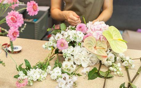 Jarní dekorace: 2hodinový kurz floristiky