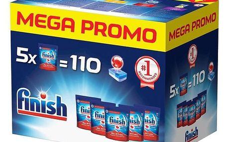 Tablety do myčky Finish All in1 Max 110 Mega box