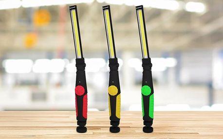 Nabíjecí pracovní LED lampa s výkonem 5 W