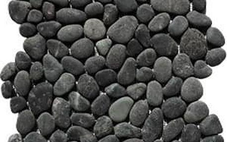 Indera Black Sumatra 57087 1m2 Oblázková mozaika