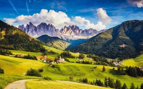 Cortina, Bolzano, Marmolada | 2 noci se snídaní | 5denní poznávací zájezd do Itálie