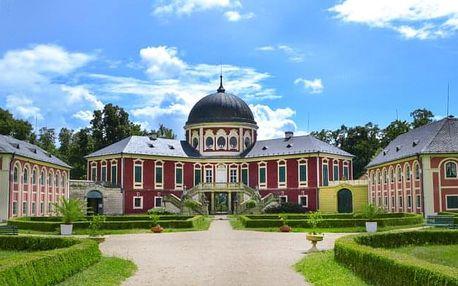 Edukační pobyt v areálu zámku Veltrusy s polopenzí, prohlídkou zámku a výstavou