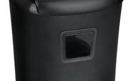 Skartovač Peach PS500-40 10 listů/ 21L/ křížový řez černý (PS500-40)