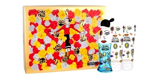 Moschino So Real Cheap and Chic dárková kazeta pro ženy toaletní voda 50 ml + tělové mléko 100 ml + sprchový gel 100 ml
