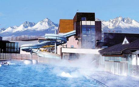 Poprad, hotel Aquacity Season**** propojený s aquaparkem a vybaveným wellness