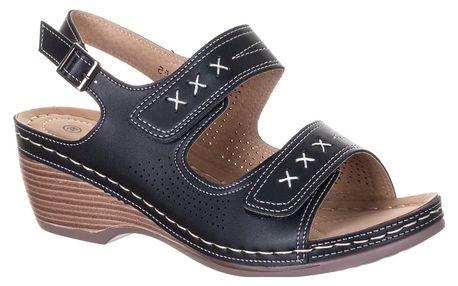 Minke Dámské sandály Fashion se suchými zipy