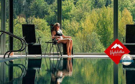 Luxusní hotel Vyhlídka v Janských Lázních na 1 až 3 noci s wellness a skvělou gastronomií