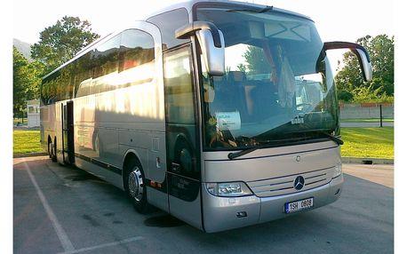 Jízdenka autobusem, Termální lázně, Maďarsko, autobusem, bez stravy
